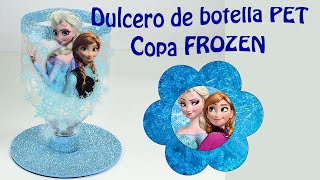 Download Frozen dulcero o centro de mesa con botellas PET | El Mundo de MyG Video