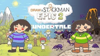 Download UNDERTALE Draw a Stickman Epic 2 Gameplay - Frisk and Chara - Happy Ending Video