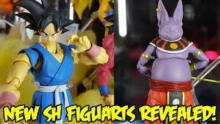 Download New Dragon Ball Z SH Figuarts Revealed! GT Goku, Champa, Whis, Vados, Super Saiyan God Goku, & More! Video