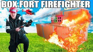 Download BOX FORT FIRE FIGHTERS ROLEPLAY!! 📦🔥 Box Fort Fire Station, REAL FIRES, Fire Patrol & MORE! Video
