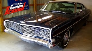 Download 1968 Ford Galaxie XL Fastback 428 V8 4 BBL Hideaway Headlights Video