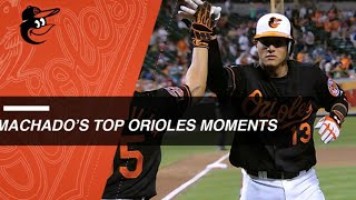 Download Check out Machado's top moments with Orioles Video