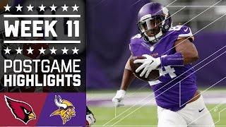 Download Cardinals vs. Vikings | NFL Week 11 Game Highlights Video