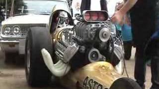 Download Vintage nitro dragster warm up. Video
