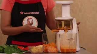 Download Wonderchef Slow Juicer | Get Best Nutrition from Fruits Video