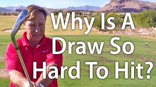 Download Golf Tip: Why Is A Draw Shot So Hard To Hit? Video