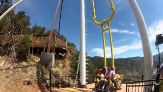 Download Giant Canyon Swing - Glenwood Springs Adventure Park Video