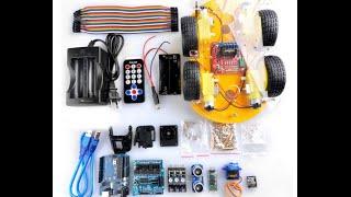 Download Gbargin/Elegoo Robot Car Kit for Arduino assembly Video