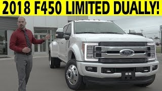 Download 2018 Ford F450 Limited Dually Diesel 4x4 - FIRST LOOK Video