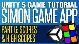 Download Mobile Simon Game Tutorial #6 - Scores & High Scores Video