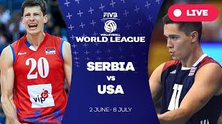 Download Serbia v USA - Group 1: 2017 FIVB Volleyball World League Video