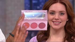 Download bareMinerals Gen Nude Powder Blush Palette w/ Dual Finish Blush Brush on QVC Video