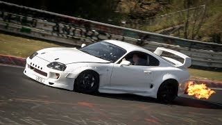 Download NÜRBURGRING GREATEST MOMENTS 2017 - BEST OF Highlights, Crashes, Drifts & Fails - Nordschleife 2017 Video