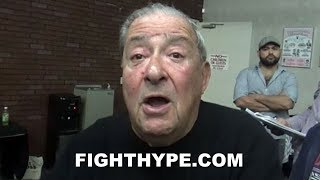 Download BOB ARUM NOT PLAYING GAMES; INSISTS CRAWFORD VS. SPENCE CAN BE MADE IN 3 HOURS, GARCIA VS. LOMA NEXT Video