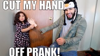 Download CUT MY HAND OFF PRANK!! Video