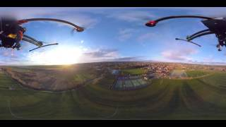 Download first ever 360° video drone gimbal Video