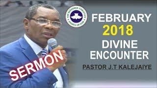 Download Pastor J.T Kalejaiye Sermon @ RCCG February 2018 DIVINE ENCOUNTER Video