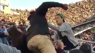 Download Oakland Raiders Fan B*tch Slaps Chargers Fan During Game Video