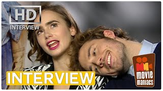 Download Love Rosie | Lily Collins & Sam Claflin on love movies, friendship and (w)rapping INTERVIEW Video