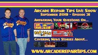 Download Arcade Repair Tips - Live Show - Episode 31 Video