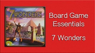 Download 7 Wonders - How to Play Video