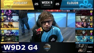 Download FlyQuest vs Cloud 9 | Week 9 Day 2 S8 NA LCS Summer 2018 | FLY vs C9 W9D2 Video