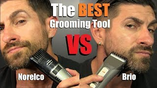 Download Who Makes The BEST Beard Grooming Tool | Norelco vs Brio | * NON-Sponsored* Review & Comparison Video