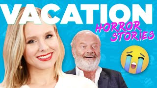 Download Kristen Bell And Kelsey Grammer React To Vacation Horror Stories Video