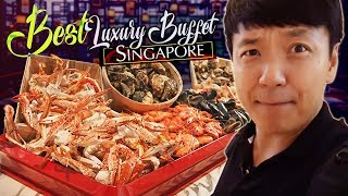 Download BEST LUXURY BUFFET in Singapore!? Colony Buffet Review at Ritz Carlton Video