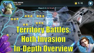 Download Star Wars Galaxy of Heroes: Territory Battles - Hoth Invasion In-Depth Overview Gameplay Video