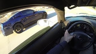 Download GT500 vs LS3 Corvette - POV Street Racing Video