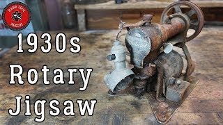 Download 1930s Rotary Jigsaw (Cutawl) [Restoration] Video
