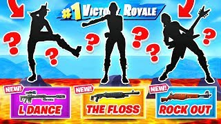 Download RARE EMOTES = LEGENDARY WEAPONS in Fortnite! Video