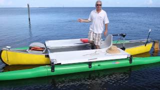 Download Outrigger canoe kit from Expandacraft Video