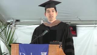 Download Graduation 2017-Alumni Speaker Charles Adair Speaks at Recognition Ceremony Video