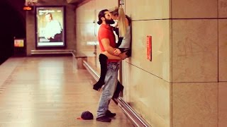 Download KISSING GIRLS in the SUBWAY! Social Experiment Video