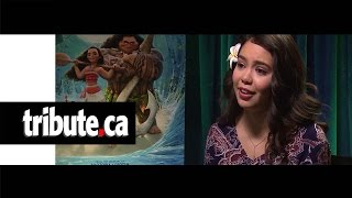 Download Auli'i Cravalho - Moana Interview Video