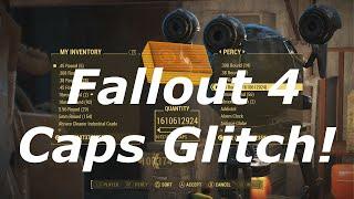 Download Fallout 4 Infinite Bottle Caps Glitch! Unlimited Bottle Caps In Fallout 4! (Fallout 4 Glitches) Video