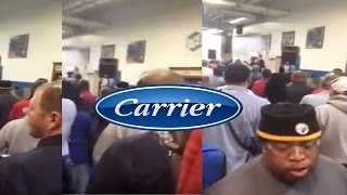 Download Worker Screams F%ck You At Announcement By Carrier To Ship Jobs To Mexico Video