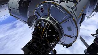 Download ISS Spacewalk Animation - U.S. EVA #35 SSU Replacement Video