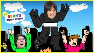 Download ROBLOX Battle as a Giant Boss! Let's Play with Ryan's Family Review! Video