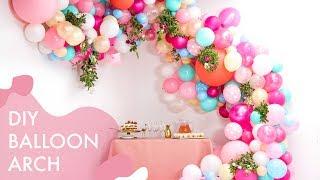 Download DIY Floral Balloon Wedding Arch | Makeful Video