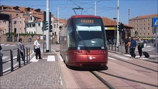 Download Venezia/Venice-MestreTranslohr tramway - Straßenbahn - Villamos Actv Video
