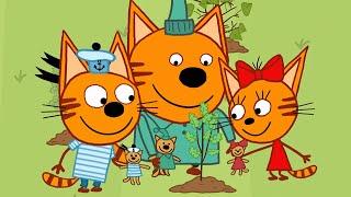Download Три кота | Деревья | Новая Серия 123 | Мультфильмы для детей Video