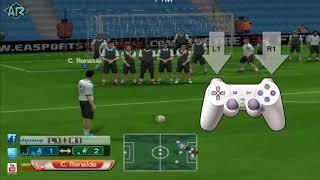 Download How to play free kick pes 6 طرق لعب الضربة الحرة فى Video