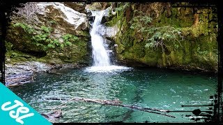 Download Our own private waterfall in Big Sur! (part 1) Video