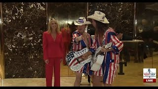 Download RSBN Trump Tower Elevator Cam- Tuesday 11/29/16 Video