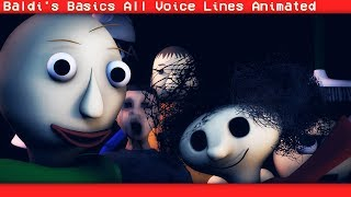 Download [SFM BALDI] Baldi's Basics In Learning All Voice Lines (Animation) Video