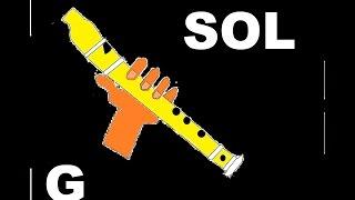 Download La canción más fácil y hermosa para flauta dulce. Tutorial con animación HD. Video