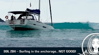 Download SSL 284 ~ Surfing in the anchorage... NOT GOOD! Video